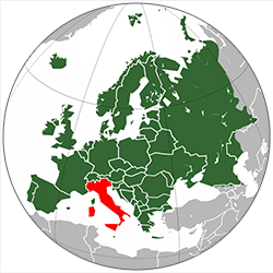 MappaEurope Italia